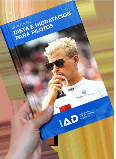 Dieta e hidratación para pilotos.